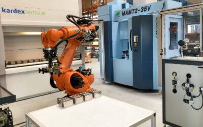QRS Robotcelle ved BJ-Gear